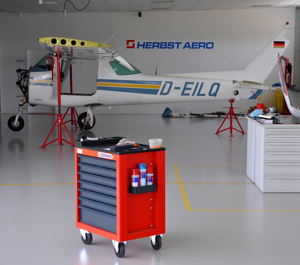 pravidelna udrzba a servis letounu | Herbst Aero