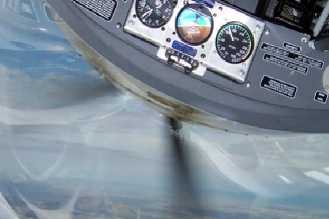 Flight with video recording. - Aerobatic flights