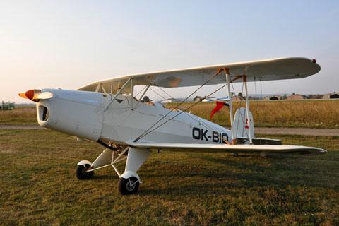 Historický - Bücker 131 Jungmann