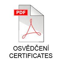 Certificates AMO