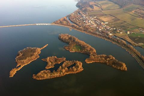 Lednice, Valtice, Pálava and others - Flight over southern Moravia